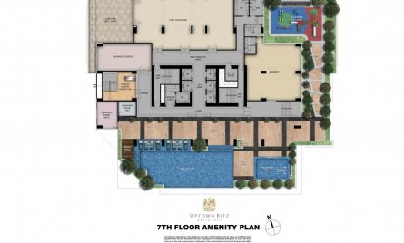 7th Floor Amenity Plan