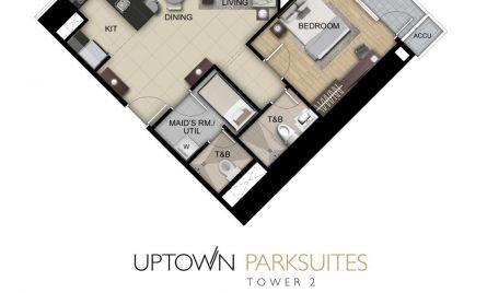 One Bedroom Suite Unit A,H