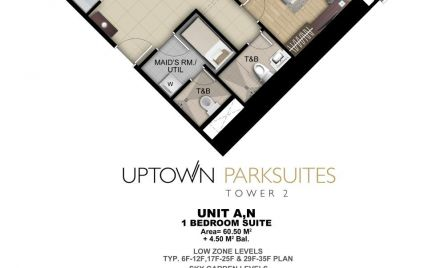 One Bedroom Suite Unit A,N