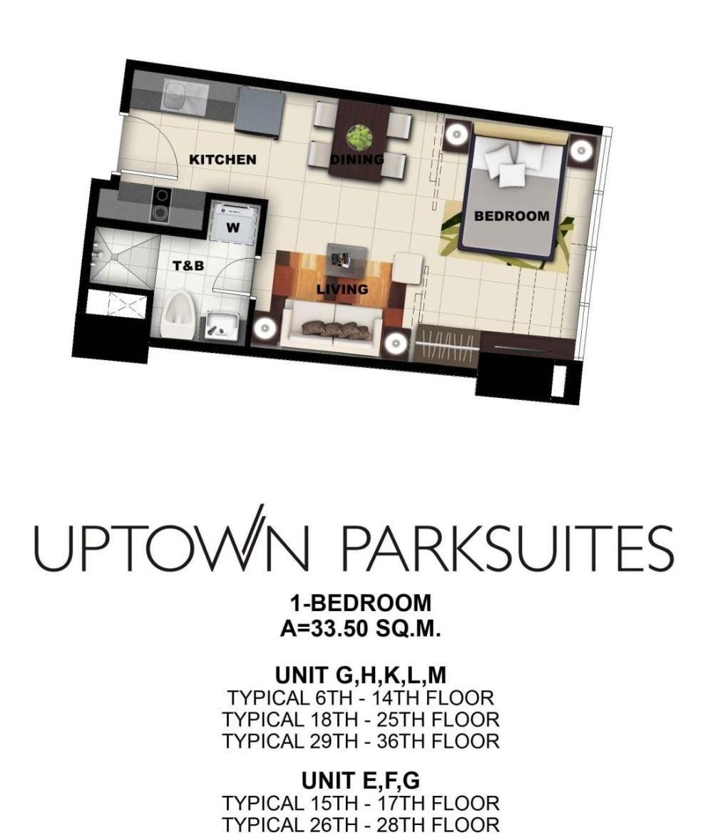 Uptown Parksuites  Pre Selling Condo In Bgc Bonifacio