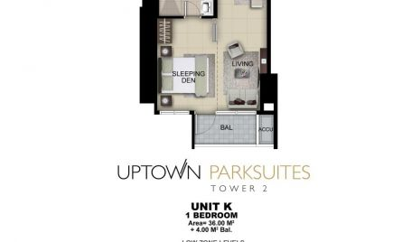One Bedroom Unit K