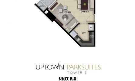 One Bedroom Unit R,S