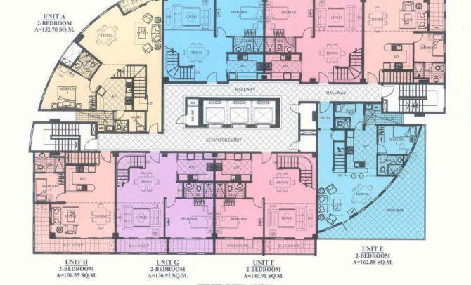 Penthouse Floor Level ( Emanuele, Fiorenzo,Giovanni)