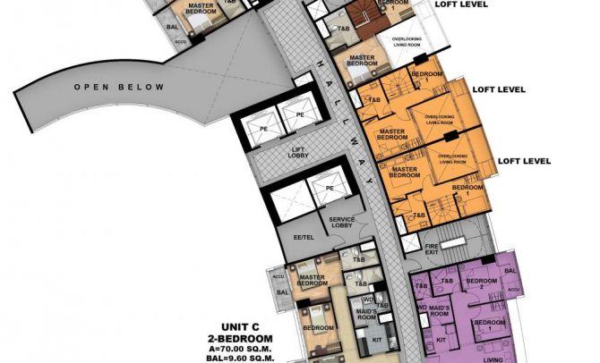 Second Floor Plan (Tower 3)