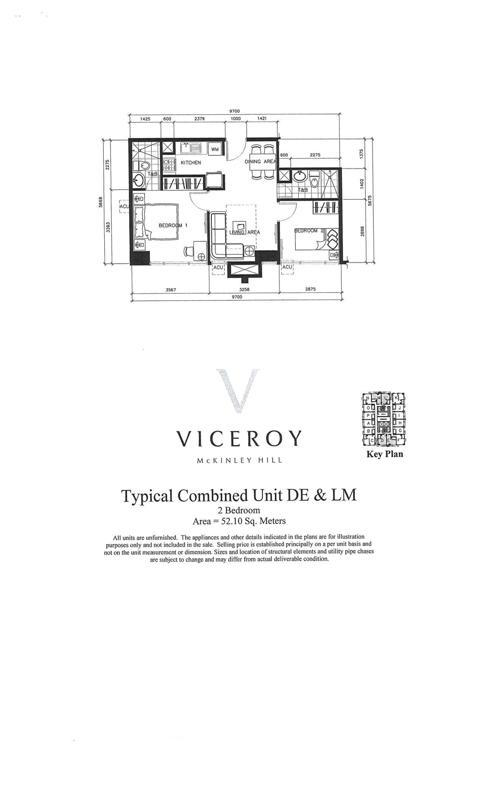 Viceroy residences floor plans for Viceroy home plans