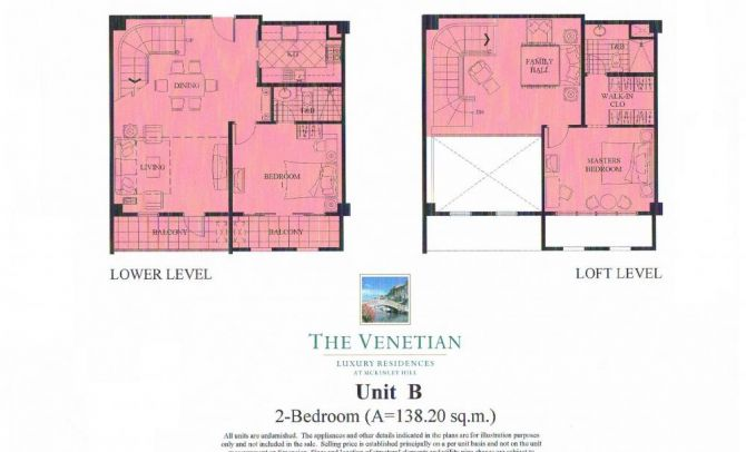 Two Bedroom Unit (Unit B)