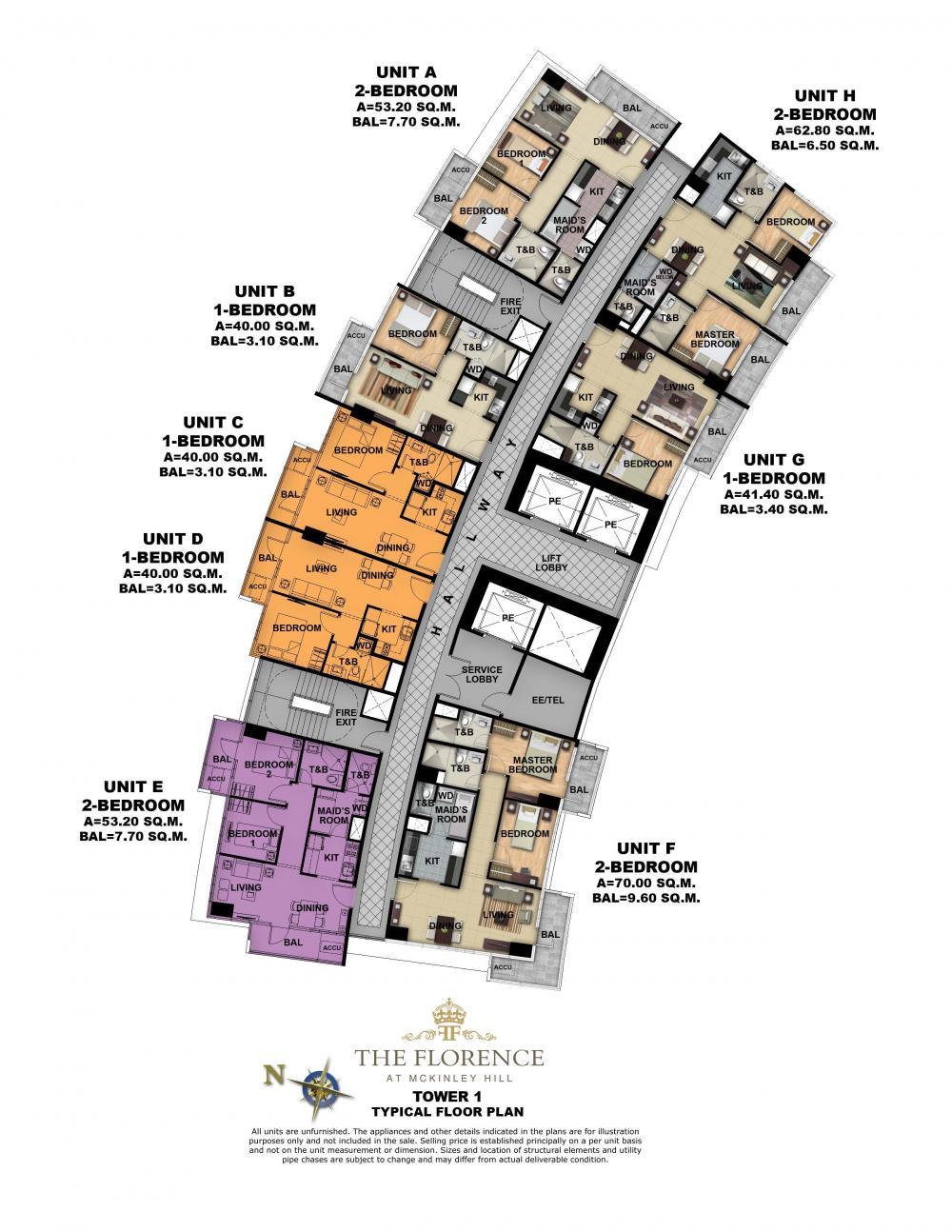 The florence floor plans for Condominium building plans