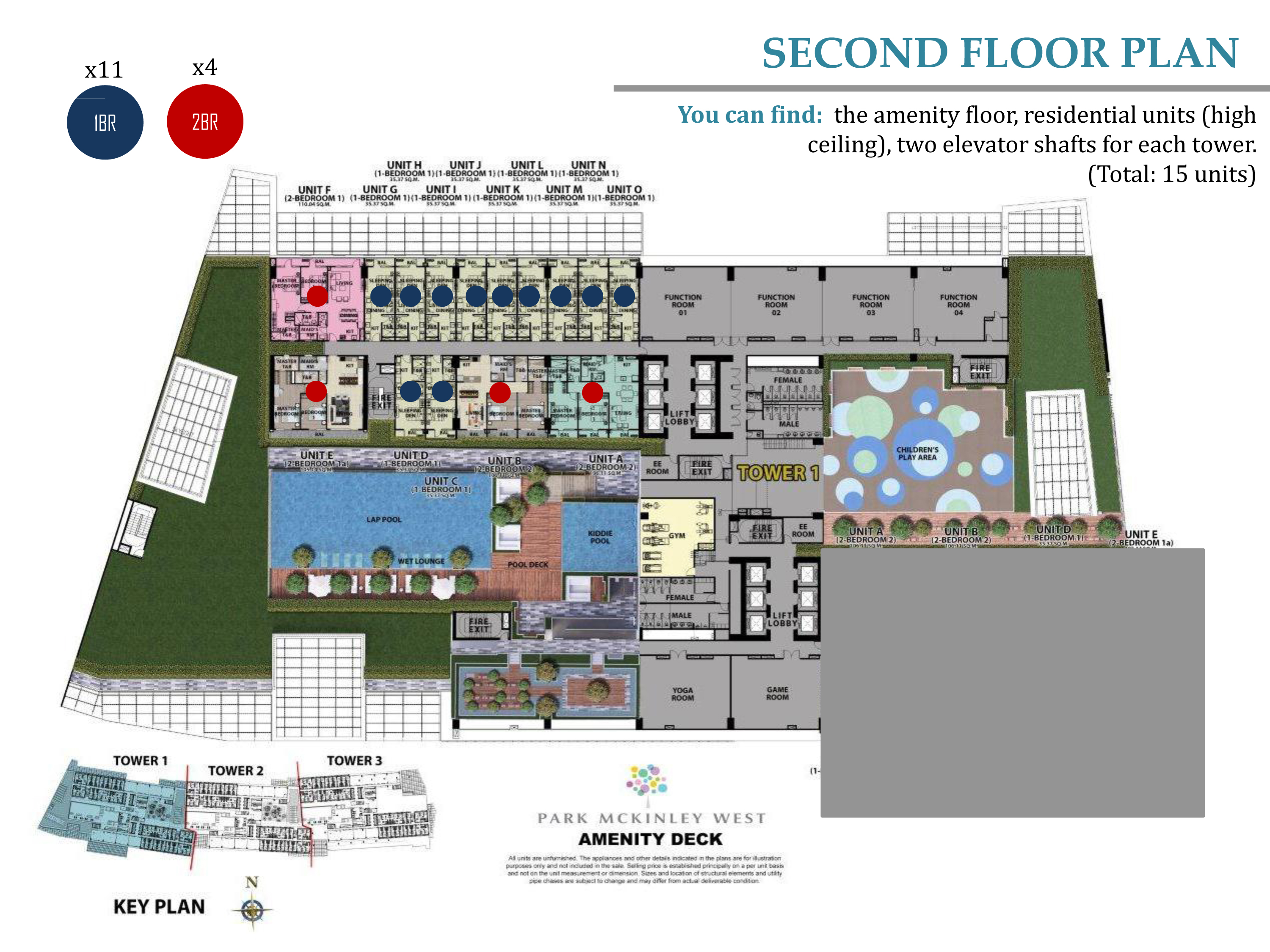 park mckinley west second floor plan