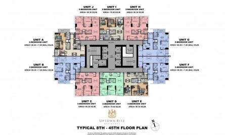 ypical 8th-45th Floor Plan