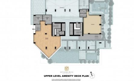 Upper Level Amenity Desk Plan