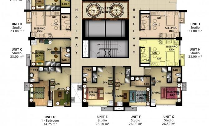 2nd Floor Plan (Tower 4)
