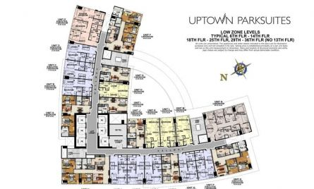 Low Zone Levels (Typical Floor Plans)