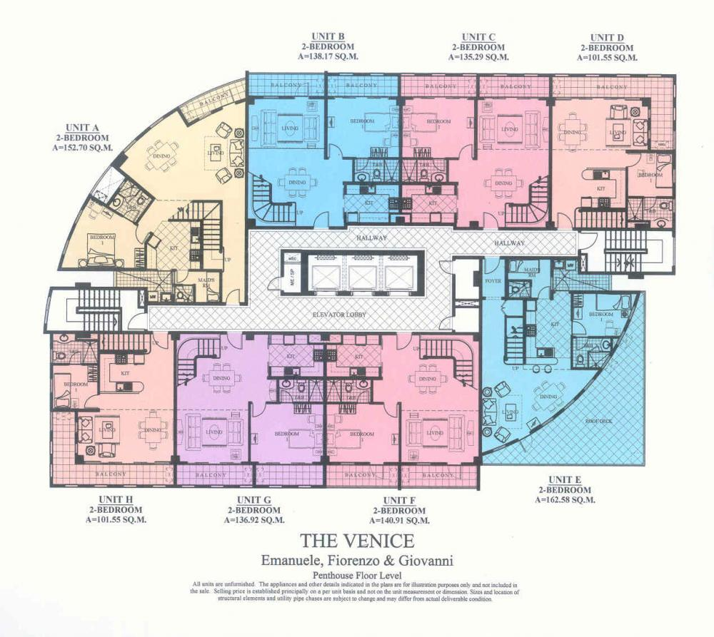 penthouse floor level emanuele fiorenzogiovanni - Luxury Penthouse Floor Plans