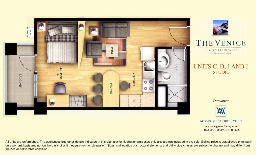 Luxury Apartments Condo Floor: The Venice Luxury Residences Floor Plans