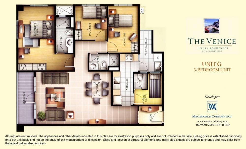 The Venice Luxury Residences Floor Plans