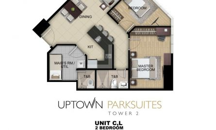Two Bedroom Unit C,L