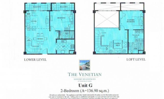 Two Bedroom Unit (Unit G)
