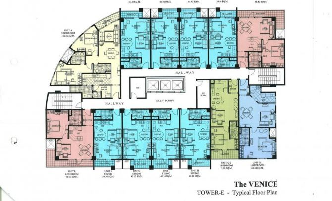 Typical Floor Plan (Tower-E)