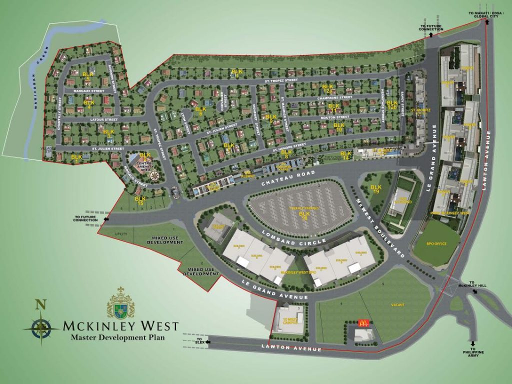 park mckinley west site development