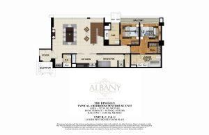 The Albany Kingsley Unit Layout