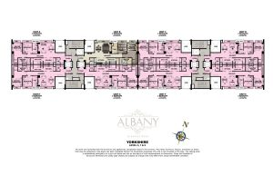 The Albany Yorkshire Tower Floor Plan