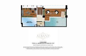 The Albany Yorkshire Unit layout
